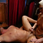 "Mistress TS Danni Daniels owns ""The Tranny Chaser"" Christian"