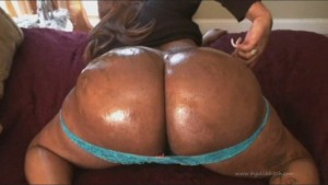 55+ inches of Phat Black Tranny Ass… Who can handle this?