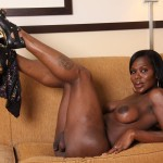 TS Mycinia the Deep Dark Chocolate Tranny from The Dirty South!!!