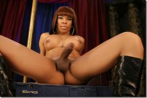 Hung Cock TS Sasha Strokes…