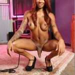 Solo Scene with TS Honey Foxx